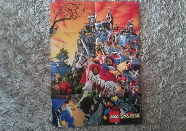 Plakat Lego Castle z 1995 Royal Knights format A2 unikat