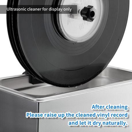 Myjka płyt winylowych - myjka ultradźwiękowa 6L + przystawka