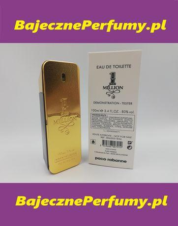 Perfumy PACO RABANNE One Million 100ml Tester hit okazja WYSYŁKA hhuuu