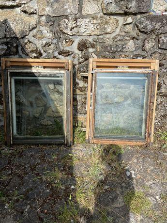 2 janelas Velux