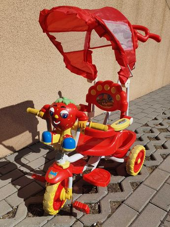 Rowerek trójkołowy + zabawka
