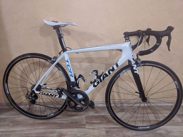 Карбоновый шоссейный велосипед Giant TCR Advanced SL LTD/ Dura-ace di2