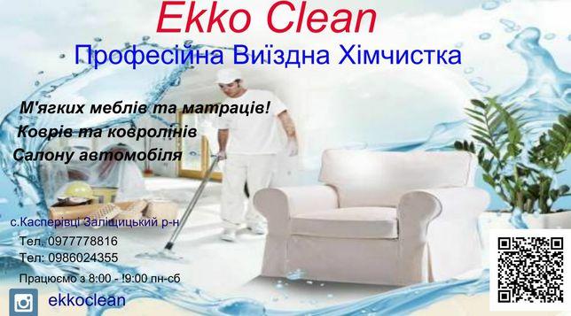 Ekko Clean Хімчистка м'ягких меблів на виїзді
