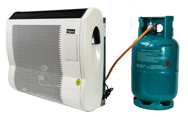 Ogrzewacz gazowy 7,5 kW FHS+wentylator, nagrzewnica,piecyk konwektor