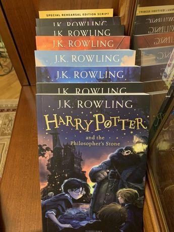 Гарри Поттер, новый комплект книг из 8 частей на Английском языке