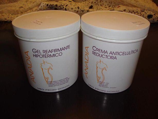 Cremes Anadia anticelulitico redutor ou reafirmante. Novos selados