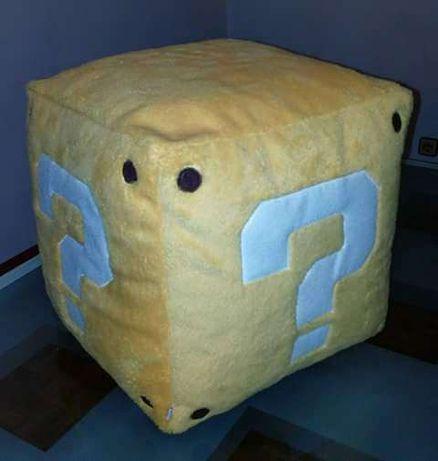 Almofada cubo Super Mário Bros