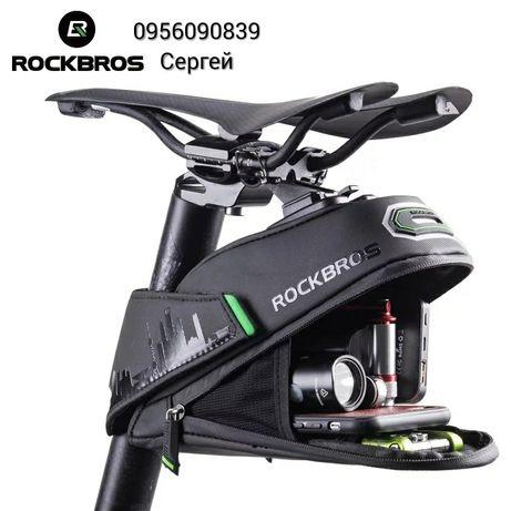 Велосумка на подсидельний штырь RockBros вело сумка бардачок