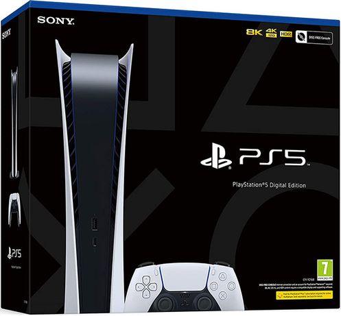 Playstation 5 Digital Edition Nova Selada