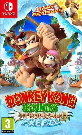 Conquest Donkey Kong Country: Tropical Freeze nowy!