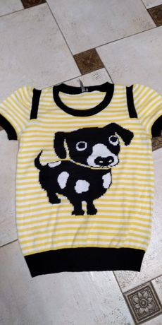 Кофта футболка джемпер для девочки подростка TOPSHOP