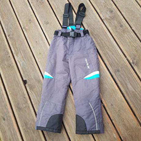 Spodnie narciarskie rozmiar 110/116