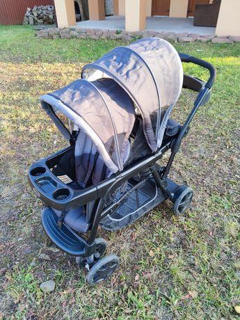 Прогулочная коляска для двойни Graco
