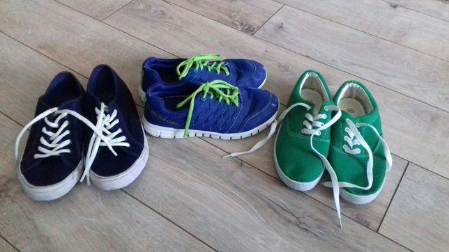 Buty sportowe, tenisówki r. 36, 37 dziecięce chłopięce
