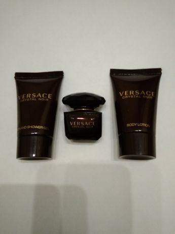 Versace crystal noir туалетная вода, гель, лосьон для тела