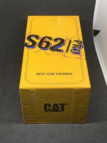 Защищенный телефон CAT S62 Pro black 6/128Gb тепловизор