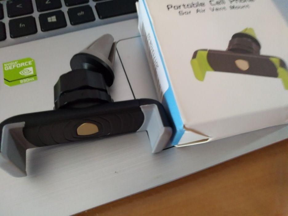 Suporte para Smartphone de colocar no ventilador do carro Santa Luzia - imagem 1