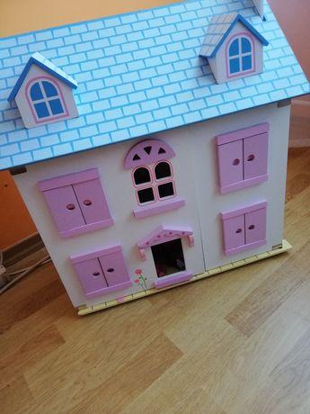 Domek dla lalek drewniany  barbi lego frends lol