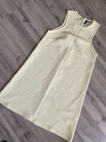 Лимонное платье Divided H&M