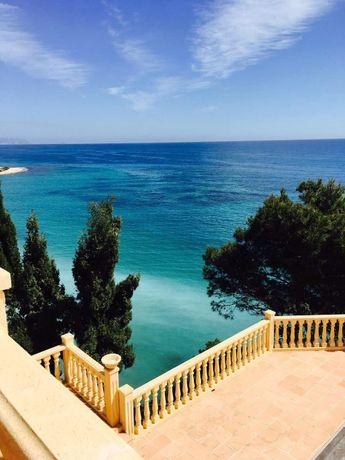 Вилла на берегу первой линии Средиземного моря,Аликанте,Испания! РАЙ!