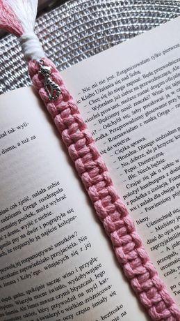 Zakładka do książki makrama ręcznie robione