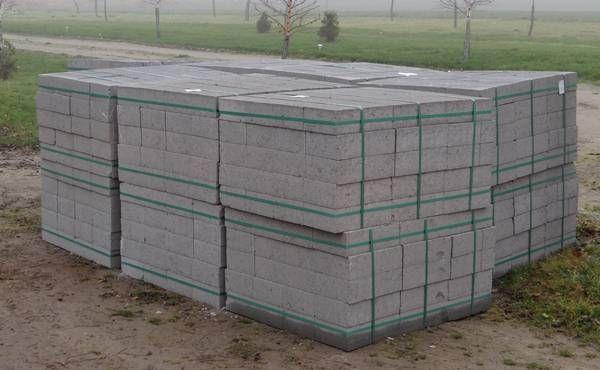 Bloczek betonowy, fundamentowy