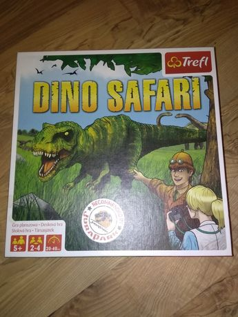 NOWA Gra planszowa ,,Dino Safari,,