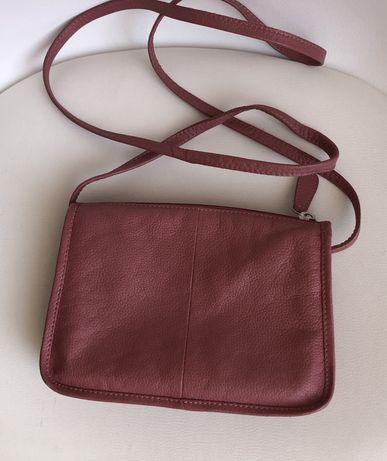 Skórzana torebk stan idealny