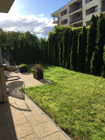Mieszkanie z ogródkiem 130 metrowym.