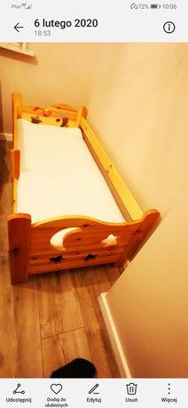 Łóżko dziecięce z litego drewna sosna