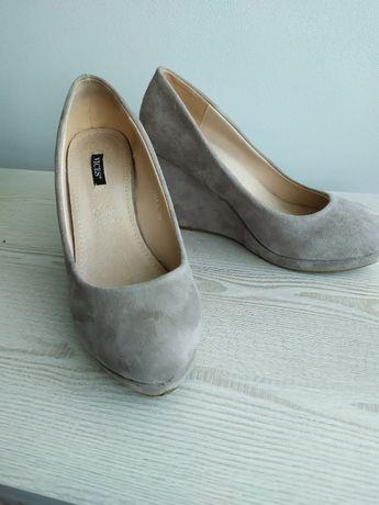 Buty damskie na koturnie rozmiar 39