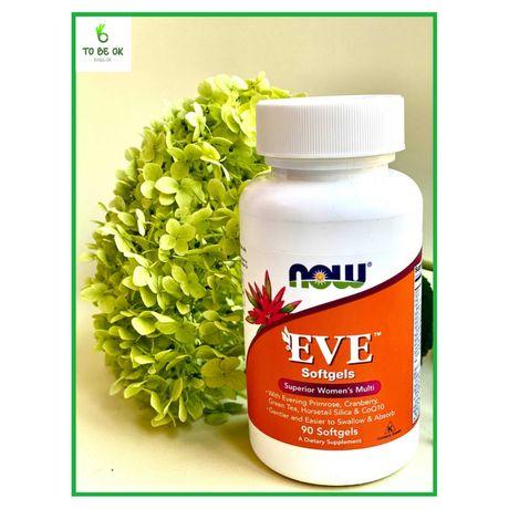 Вітамини для жінок EVE Superior Women's  Now Foods 90 капсул (NF357)