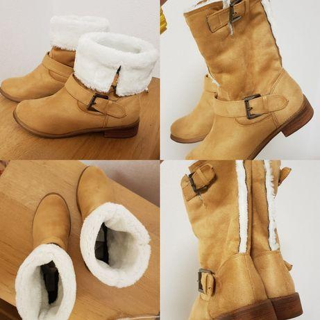 Черевики-чобітки теплі 37р.