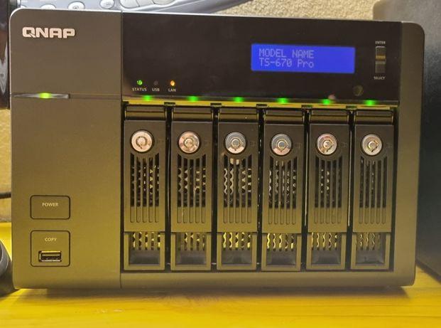 QNAP NAS 670 Pro - i5, 16GB RAM, 12TB.