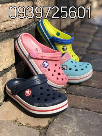 Детские кроксы Crocs Crocband kids сабо ОРИГИНАЛ 22-34р