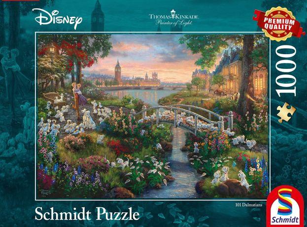 Puzzle Disney/Schmidt/Thomas Kinkade 101 Dalmatyńczyków