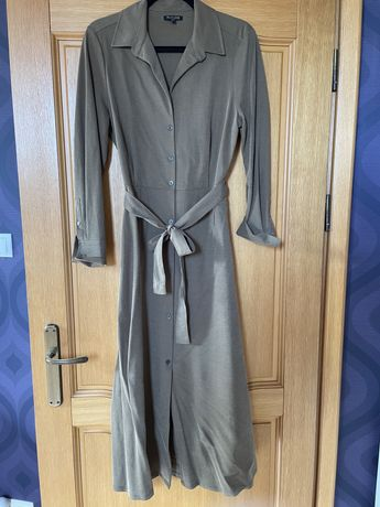 Sukienka Massimo Dutti, rozmiar M, kolor khaki