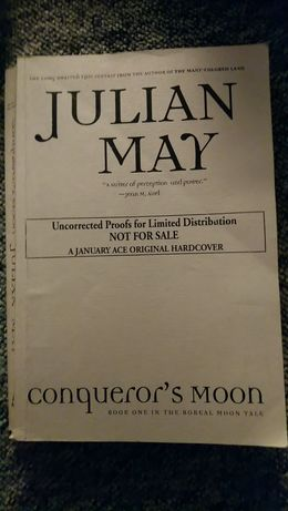Julian May Conqueror's moon po angielsku in english