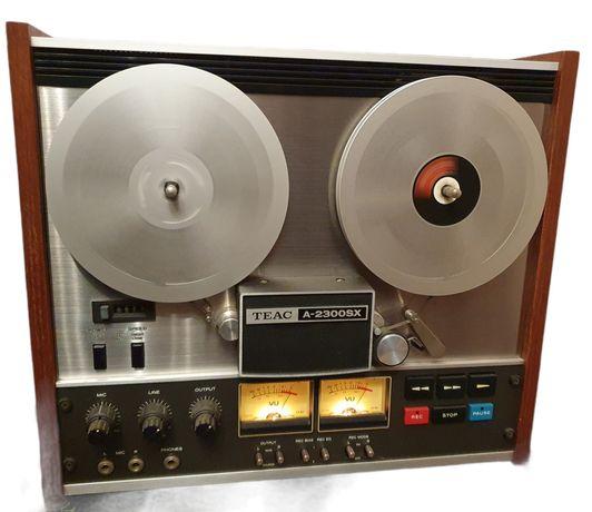 Magnetofon Szpulowy TEAC A 2300 SX tape rekorder Vintage Piękny szpula
