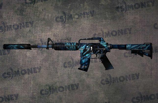 CS GO Skin M4A1-S Nightmare Koszmar BS po ciężkich walkach
