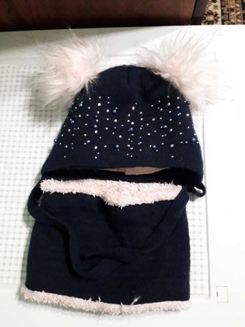 Комплект шапочка+хомут