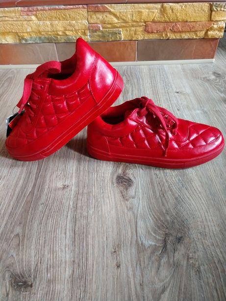 Кроссовки Кеды reserved женские красные