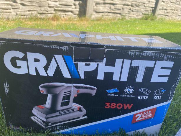 Szlifierka taśmowa graphite 380W