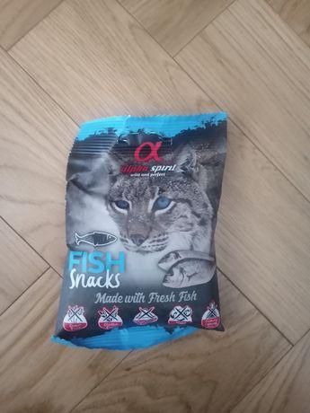Alpha Spirit Fish Snakcs Przysmak dla kotów 50 g