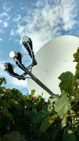 Спутниковые антенны и эфирные Т2. Установка и ремонт
