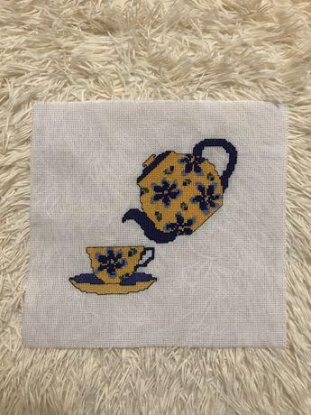 Вишивка «чаювання»