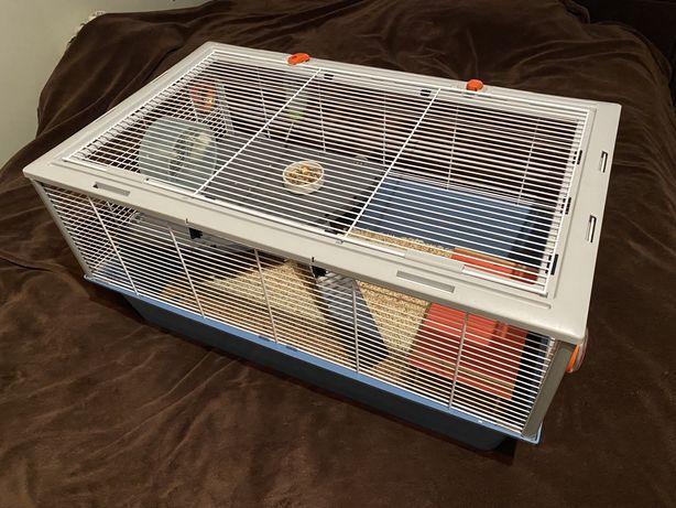 Большая клетка для кроликов/хомяков/шиншил