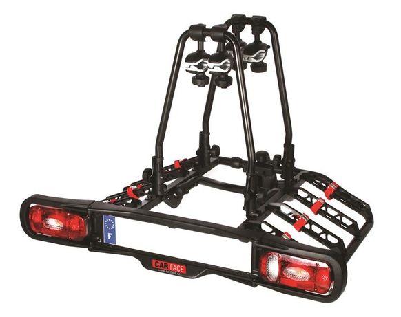 Nowa platforma / bagażnik na 4 rowery na hak Carface/interpack