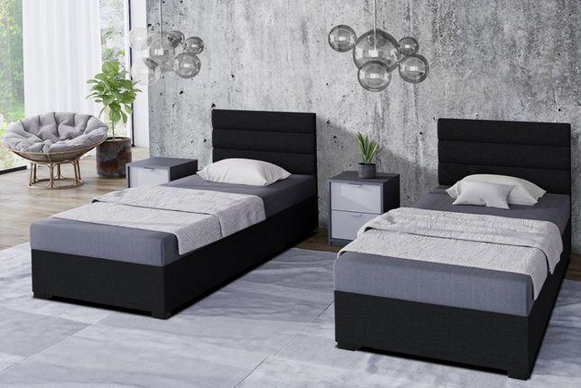 Tapczan Hotelowy łóżko jednoosobowe pojemnik na pościel Różne wymiary