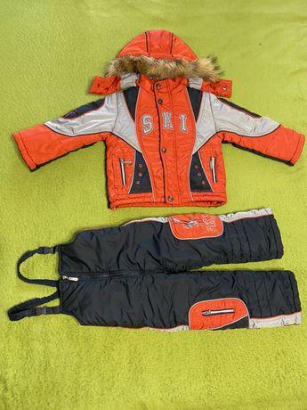 Продам зимнюю Куртку и Полукомбинезон Pretty kids.